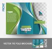 Architecture & Interior Designer Brochure Royalty Free Stock Photography