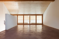 Architecture, interior, empty house Stock Photography