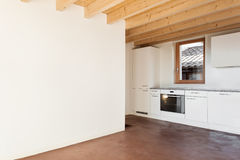 Architecture, interior, empty house Stock Images