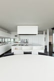 Architecture, interior of a modern villa Royalty Free Stock Photos
