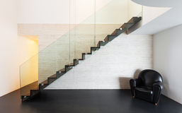 Architecture, interior of a modern villa Royalty Free Stock Image