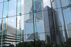 Architecture interior structure of hong kong Royalty Free Stock Photos