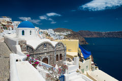 Architecture of  island of Santorini, Stock Photo