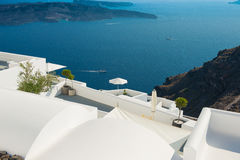 Architecture of  island of Santorini, Royalty Free Stock Photo