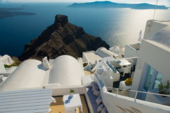 Architecture of  island of Santorini, Royalty Free Stock Photos