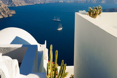 Architecture of  island of Santorini, Stock Image