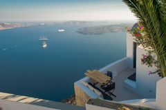Architecture of  island of Santorini, Royalty Free Stock Image