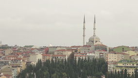 Architecture Of Istanbul stock footage