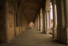 Architecture in the Italian town of Vicenza Royalty Free Stock Photo