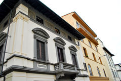 Architecture of Italy. Old architectural buildings in florence Italy Royalty Free Stock Photo