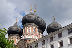 Architecture of Izmailovo manor in Moscow. Intercession Cathedral Royalty Free Stock Image