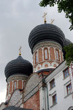 Architecture of Izmailovo manor in Moscow. Intercession Cathedral Stock Images
