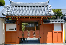 Architecture japonaise traditionnelle Image libre de droits