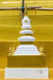 The architecture of Juramanee pagoda model Stock Photo