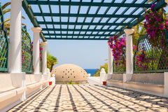 Architecture of Kalithea Thermes Royalty Free Stock Photo