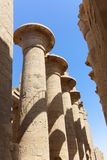 Architecture of Karnak Temple - Egypt. Architecture of Karnak Temple at Luxor - Egypt Karnak temple - Most huge temple at Egypt stock photography