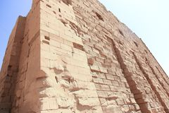 Architecture of Karnak Temple - Egypt. Architecture of Karnak Temple at Luxor - Egypt Karnak temple - Most huge temple at Egypt stock images