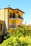 Architecture of Kastoria, West Macedonia, Greece. Stock Photo