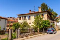 Architecture of Kastoria, West Macedonia, Greece. Stock Image