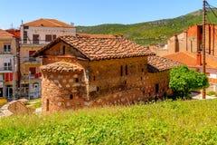 Architecture of Kastoria, West Macedonia, Greece. Royalty Free Stock Photos