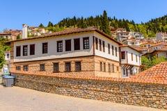 Architecture of Kastoria, West Macedonia, Greece. Stock Photos