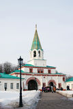 Architecture of Kolomenskoye park in Moscow. Royalty Free Stock Photography