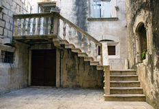 Architecture of Korčula Stock Image