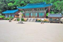 architecture korean temple стоковые фотографии rf