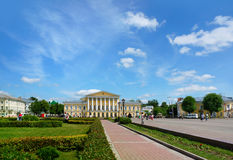 Architecture in Kostroma city Royalty Free Stock Photography