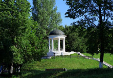 Architecture in Kostroma city, pavilion Stock Photography