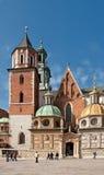 Architecture from krakow city poland Royalty Free Stock Photos