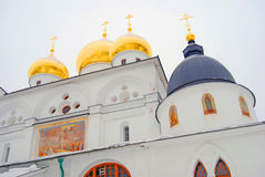 Architecture of Kremlin in Dmitrov city, Moscow region, Russia Royalty Free Stock Photography