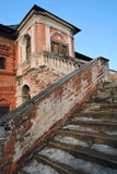 Architecture of Ktutitsy in Moscow. Old steps. Stock Photography