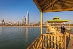 Architecture of Kuwait City stock photography