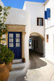 Architecture on Kythera island. Greece stock photo