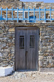 Architecture in Kythnos island, Cyclades, Greece Royalty Free Stock Photography