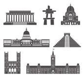Architecture l'Amérique du Nord Photographie stock libre de droits