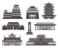 Architecture L'Asie de l'Est Photographie stock libre de droits