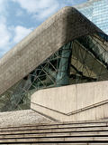 Architecture and ladders. Guangzhou opera house and  ladders Royalty Free Stock Photos
