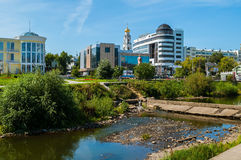 Architecture landscape of Yekaterinburg, Russia Royalty Free Stock Images