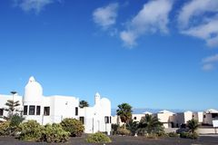 Architecture of Lanzarote Royalty Free Stock Images