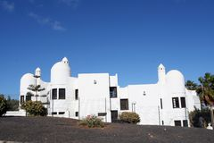 Architecture on Lanzarote Royalty Free Stock Photos