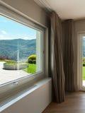Architecture, large window Royalty Free Stock Image