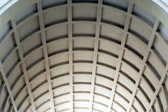 Architecture-lattice. The lattice in the building's lobby Stock Photo