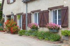 Architecture of Lavardin. Sarthe, Pays de la Loire, France royalty free stock image