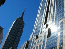 Architecture le long de Fifth Avenue Photos libres de droits