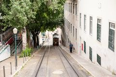 Architecture of Lisbon, Portugal royalty free stock photography