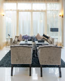 Architecture Living room Interior of the Q House Prukpirom Regent Rachapruk- Ratanathibet Stock Photo