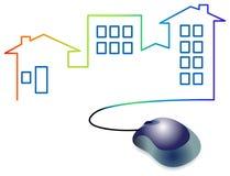 Architecture logo. Isolated illustrated architecture logo design vector illustration