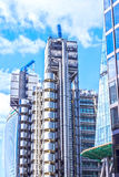 Architecture of London, business district, futuris Royalty Free Stock Photography